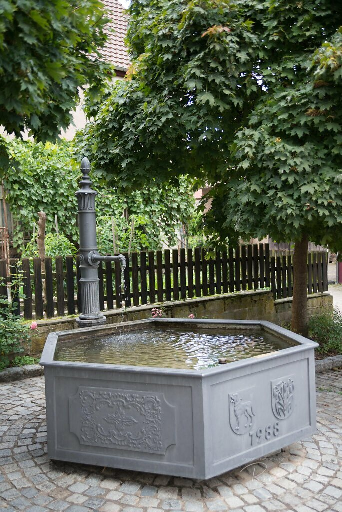 Dorfbrunnen in Haberschlacht